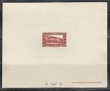 Fr. Morocco Sc166 Architecture, Valley of Draa, Deluxe Proof