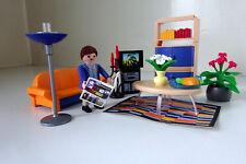 Playmobil - 3966 - Maison contemporaine - le salon