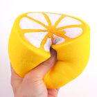 Hot Jumbo Squishy Half Lemon Fruit Scented Super Slow Rising Keyring Kid Fun Toy