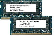 4GB Kit 2x 2GB Mid 2007 Apple Macbook Pro iMac Mac Mini PC2-5300 667 Memory Ram