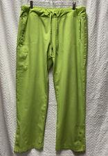 Barco One Low Rise Knit Waist Green Size Xl Petite Scrub Pants