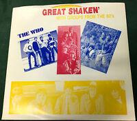 """GREAT SHAKEN"""" ep The Who, Yardbirds, Blues Magoos, Spencer Davis, Linda Ronstadt"""