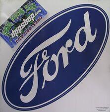 Removable peel stick Wall art Ford logo emblem sticker decal kids room garage gt