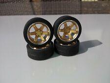 1/18 Volk TE37 aluminium wheels