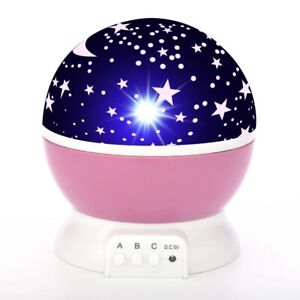Sky Projector Star Moon Galaxy Night Light For Children Kids Bedroom LED lamp