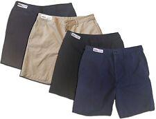 Reed Men's Work Shorts Navy Khaki Charcoal Black Elastic Waistband