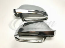Audi S4/RS4 Style Polished Aluminium Wing Mirror Covers A4 (B8) 2008-2014 Models