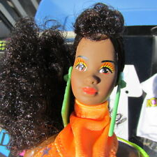 Barbie And The Rockers Dee Dee With Original Box 1986 African American Doll