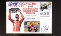 CASEY STONER 2007 DUCATI AUSTRALIAN MOTO GP WIN COVER 3
