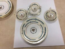 "12 Piece Aynaley Fine English Bone China ""cambridge"" 7818"