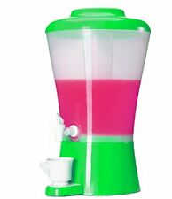 Palais Dinnerware Beverage Drink Dispenser with Ice Tube (green)