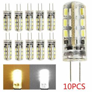 10pcs G4 LED Bulbs Capsule Replace Halogen Bulb SMD Corn Light Bulb DC 12V UK