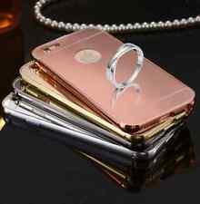 Lote 12 fundas para Apple Iphone 6 Plus y 6S Plus marco aluminio-tapa espejo PC