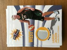 2006 WNBA Relic Lauren Jackson White-Yellow Swatch Rate