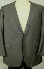 Reciente Samuelsohn gris con tenues azul a rayas traje de lana temporada 4  - 47L 40W e031e5dea8f
