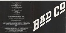 BAD COMPANY  CD: BAD COMPANY (WIE NEU; REMASTERED)