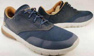 Skechers Relto-Meson Oxford Men's Size 11M Navy Blue