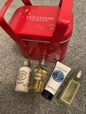 L'OCCITANE~~GIFT SET ~~SET OF 4 ITEMS WITH TIN~~NEW