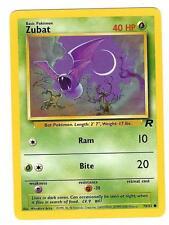 Pokemon Team Rocket Zubat Common 70/82 - NearMint