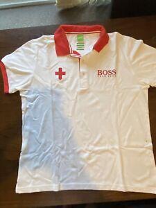 Genuine Hugo Boss England Paddy Pro Polo Shirt Sixe XL
