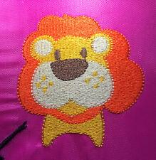 LION TOWEL -PERSONALISED -FLANNEL / HAND TOWEL