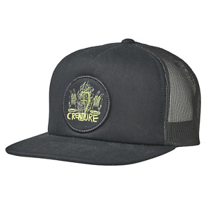 Creature Skateboards Hat Hat Magic Hands Mesh Trucker High Profile Black