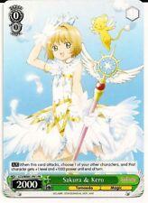 4x Sakura & Kero Weiss Schwarz Promo TCG Card