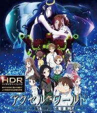 New Accel World The Movie Infinite ∞ Burst 4K ULTRA HD & Blu-ray Set Japan F/S