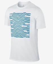 187c5fa9d04 Nike Men's Air Jordan 10 ACCOLADES T-Shirts White/Lt Crimson/Blue 789606