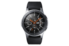 Samsung Galaxy Watch 46mm Silver Case Onyx Black Bluetooth SM-R800NZSAXAR