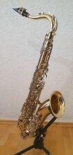 Tenor Saxophon Yamaha YTS-25 mit Lederkoffer, Ständer, Tragegurt, 4 Lehrbüchern