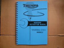 TRIUMPH TIGER CUB T20 & TERRIER T15 WORKSHOP MANUAL No8 FOR 1953 TO 1962 MODELS