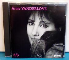 CD de Anne VANDERLOVE 3/3 ** Tous Les Bateaux Partir... CD 896 Baillemont prod.