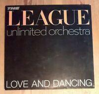 The League Unlimited Orchestra – Love And Dancing Vinyl LP Album 33rpm 1982