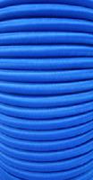 20m Expanderseil blau + 10 Spiralhaken 10mm Gummiseil Planenseil Meter Plane