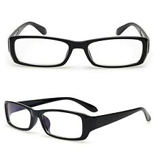 Small Clear Lens Glasses Fashion Geek Party Womens Mens