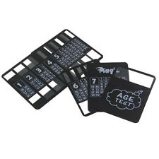 Cool Black Plastic Poker Waterproof Magic Playing Cards Desk Table Game S