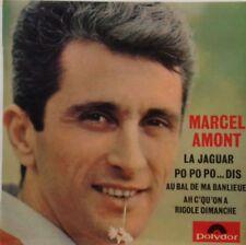 45 tours - Marcel Amont - La Jaguar -po po po ...dis - au bal de ma banlieu