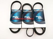 DAYCO DRIVE FAN BELT KIT FOR GREAT WALL X240 V240 MODELS 2.4L MPFI 4G69 2009-ON