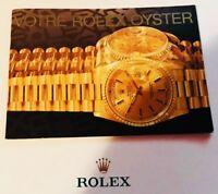 ♛ VOTRE ROLEX OYSTER livre en français Your Rolex Oyster booklet in French