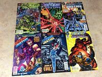 EXTREME JUSTICE #7,8,9,10,11,12 LOT OF 6 COMIC 1995-1996 DC