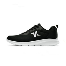 Black Men's Shoes Sneakers Breathable Casual Shoes Running Shoes Men US 9.5