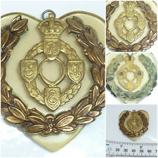 WW2 REME Sweetheart Pendant Trench Art Love Token
