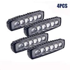 """4x 6INCH 72W LED WORK LIGHT BAR SPOT OFFROAD ATV FOG TRUCK LAMP 4WD 12V 6"""""""