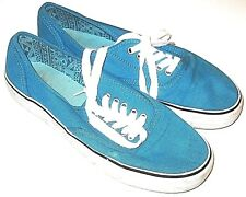 Mossimo Supply Co Shoes Tennis Canvas White Green Teal Blue Womens Size 9
