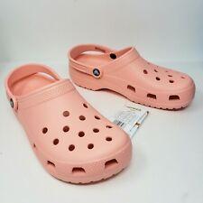 Crocs Classic Clogs Melon Lightweight Comfort Shoes Womens 11 New