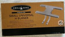 BARBECUE SMALL STAINLESS STEEL UNIVERSAL REPLACEMENT BBQ GAS GRILL DUAL H BURNER