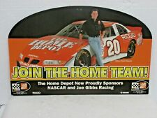 NASCAR Tony Stewart #20 Join The Home Team Double Sided Hanging Sign Home Depot