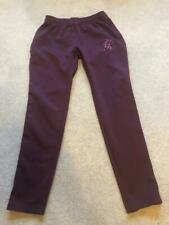 Gym King mens Size Medium joggers tracksuit bottoms - Burgundy / Red