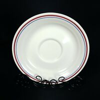 """Corelle By Corning 6"""" Flat Cup Saucer Abundance Replacements Ceramic Color Edge"""